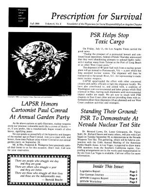 1986 Newsletters