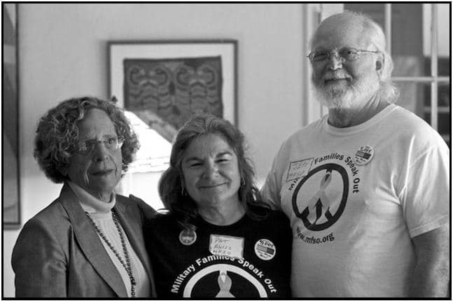 Judith Broder, M.D., Pat Aviso, and Jeff Merrick