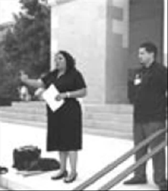 PSR-LA's Martha Dina Arguello