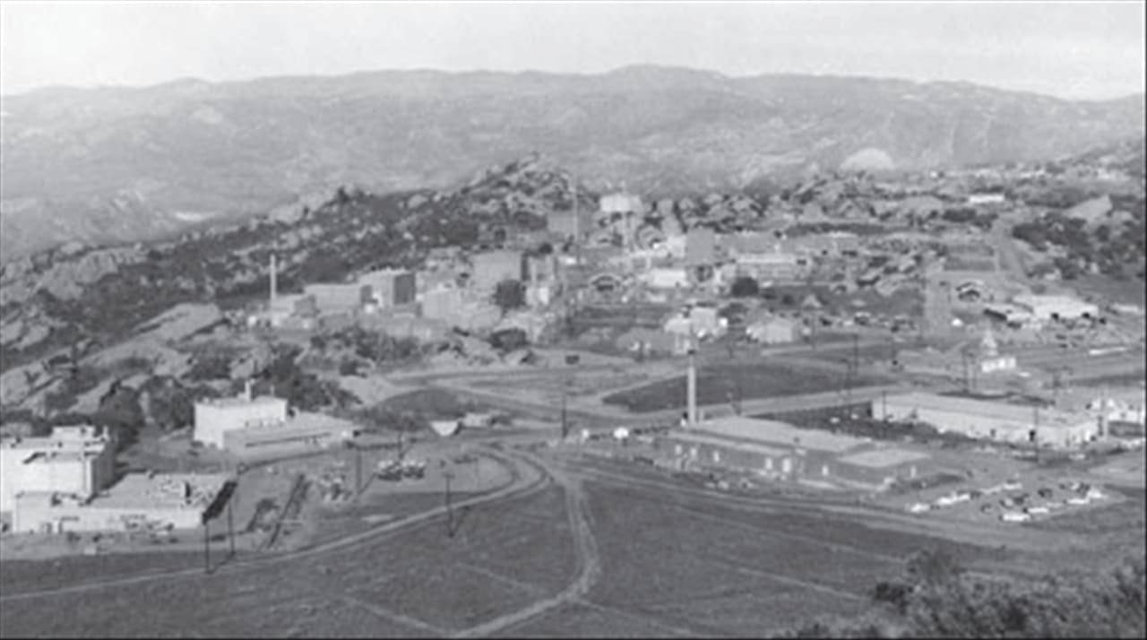Santa Susana Field Laboratory; site of nuclear meltdown.