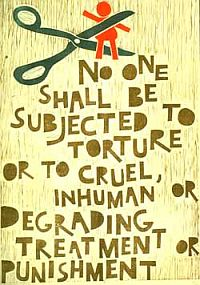 UN Poster for Victims of Torture