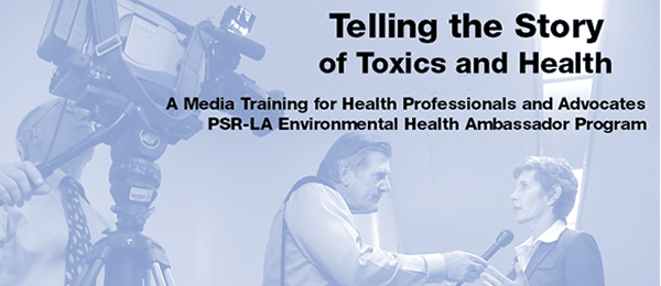 October 29 — Telling the Story of Toxics and Health