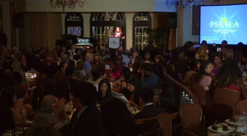 Heroes for Health – PSR-LA's 2012 Gala Dinner